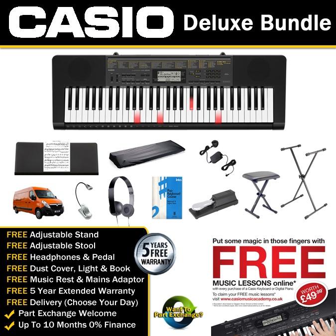 Casio LK-265 Key Lighting Keyboard Deluxe Bundle  sc 1 st  Allegro Music & Casio LK-265 Key Lighting Keyboard azcodes.com