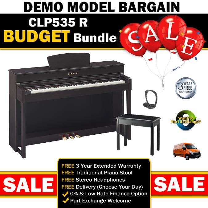 Yamaha clp535 rosewood clavinova digital piano for Yamaha clp 535 for sale