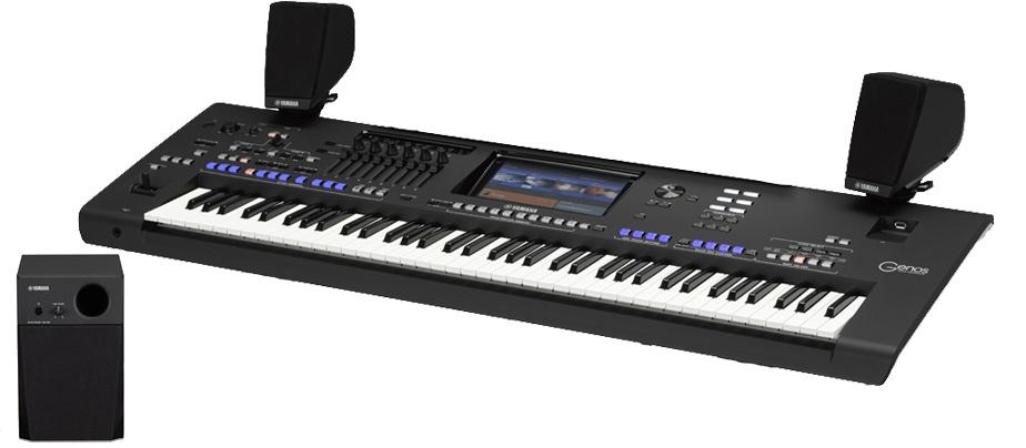 yamaha genos 76 note digital workstation keyboard. Black Bedroom Furniture Sets. Home Design Ideas