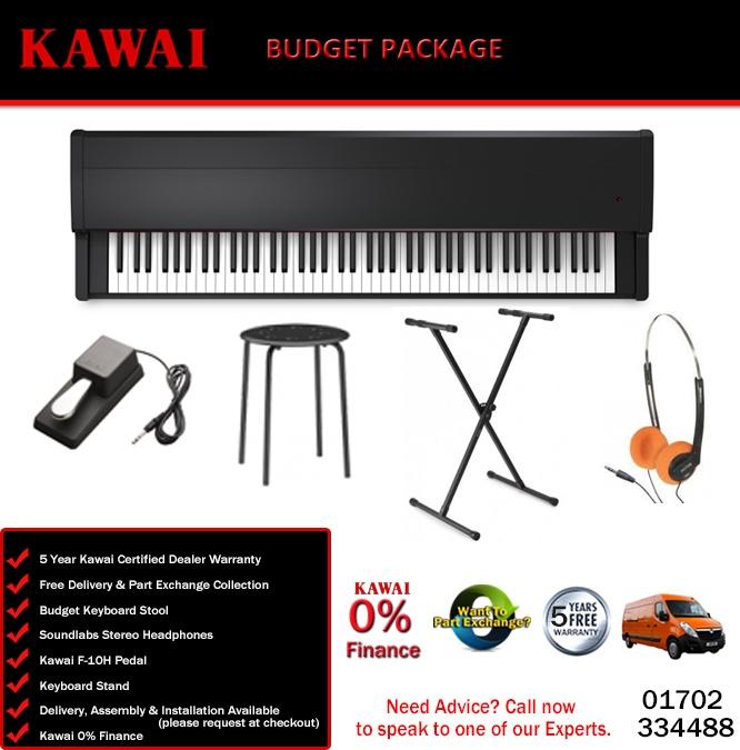 Kawai VPC 1 Virtual Piano Controller Keyboard Budget Package