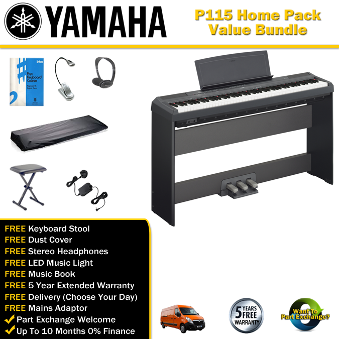 yamaha p115 bundle