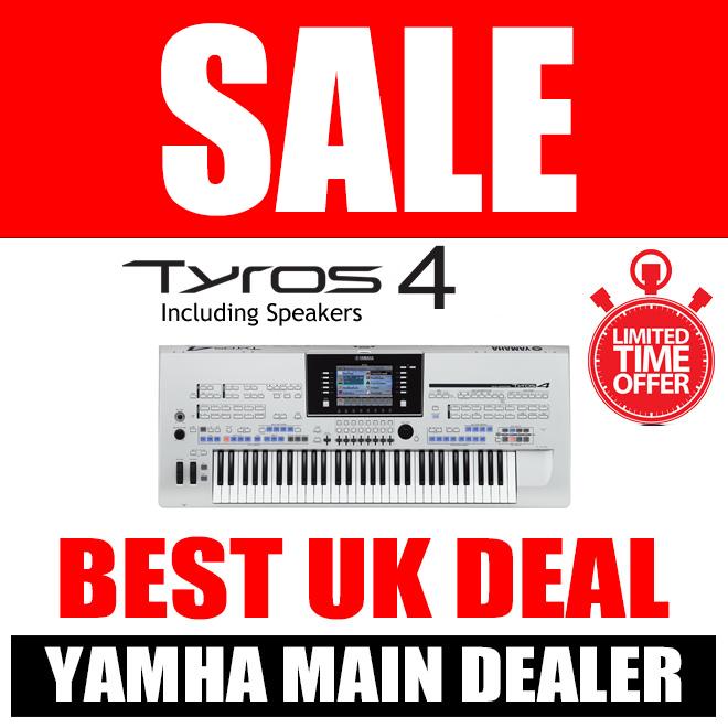 Used Yamaha Tyros 4 & Speakers - LIMITED QUANTITY