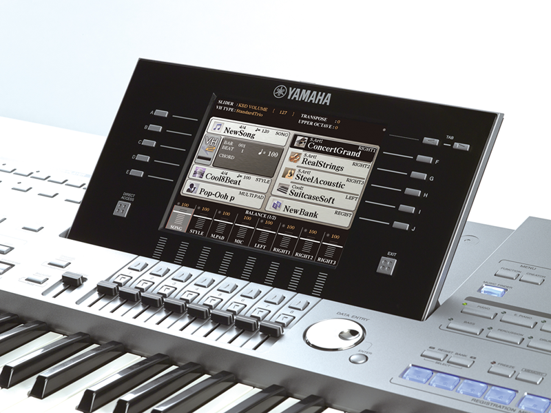 refurbished yamaha tyros 5 61 xl digital keyboard. Black Bedroom Furniture Sets. Home Design Ideas