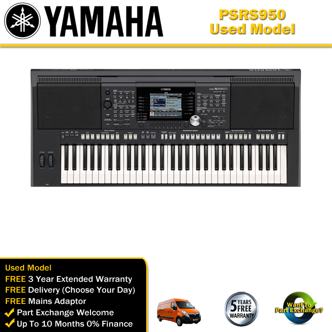 Used yamaha psr s950 keyboard for Yamaha psr s 950