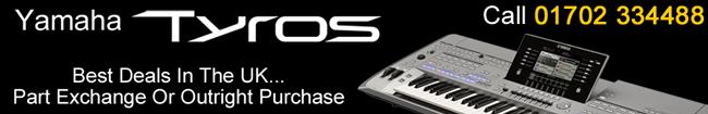 Yamaha Tyros Keyboards
