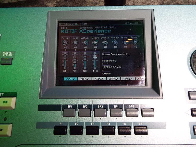 Used Yamaha Motif XS6 Synthesizer