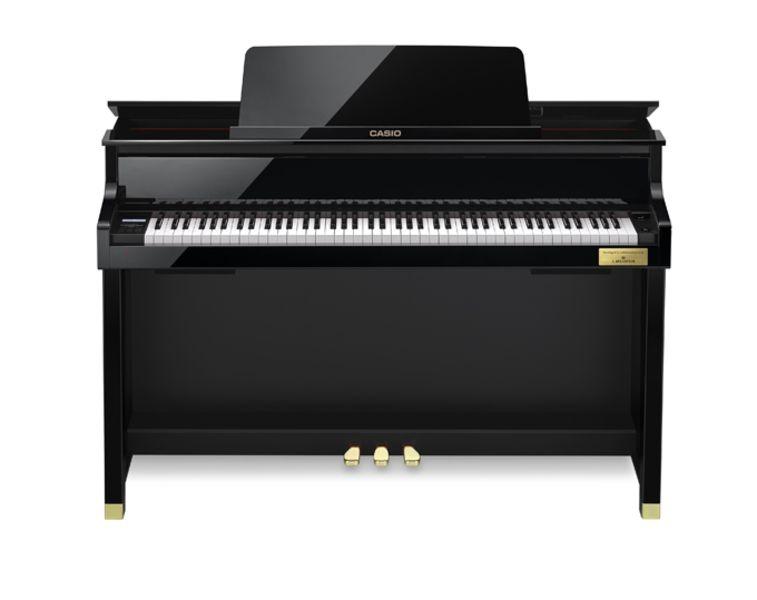 casio gp500 black grand hybrid digital piano. Black Bedroom Furniture Sets. Home Design Ideas