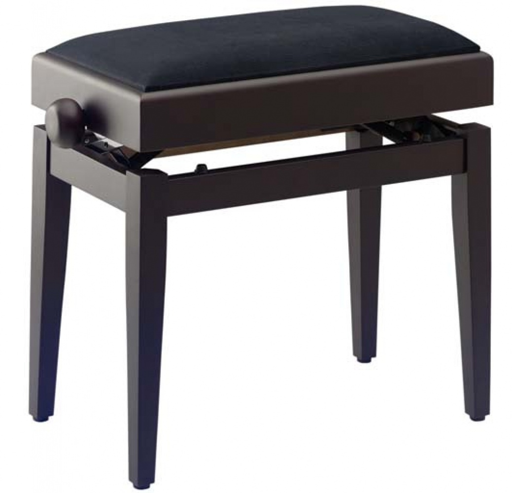 Adjustable Height Piano Stool With Music Storage