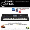 Yamaha Genos 76 Note Budget Bundle Keyboard Only