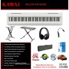 Kawai ES110 White Portable Digital Piano Deluxe Package