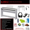 Kawai ES110 White Digital Piano Home Deluxe Package