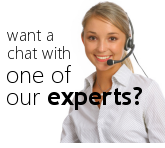 Want a chat with one of our experts?