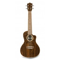 Lanikai FBCET-C Figured Bocote Thin Body Concert With A/E Ukulele