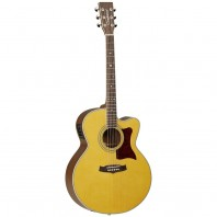 Tanglewood TW55 NSE Super Jumbo Electro Acoustic Guitar