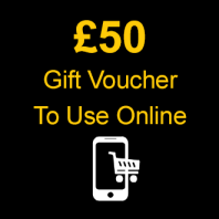 £50 Gift Voucher To Use Online