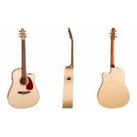 Seagull Performer Cutaway Flame Maple QIT Electro-Acoustic Guitar