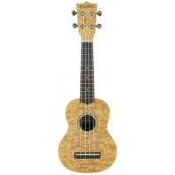 Chord Native Curly Ash Soprano Ukulele