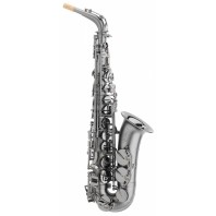 Trevor James Classic II Alto Saxophone - Black Frosted nickel plate and Black Nickel plated Keys - 3722BBF