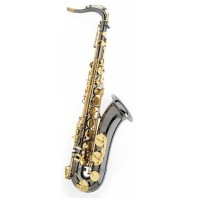 Trevor James SR Tenor Sax Outfit Black Gold Lacquer Keys 384SR BK