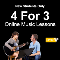 4 For 3 New Student Offer - Online Lessons