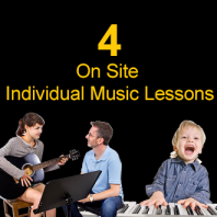 Gift Voucher For 4 Individual Music Lessons