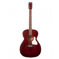 A&L Legacy Tennessee Red Electro-Acoustic Guitar With Q-Discrete Pickup