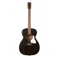 A&L Legacy Faded Black Electro-Acoustic Guitar With Q-Discrete Pickup