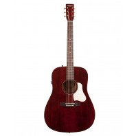A&L Americana Tennessee Red Electro-Acoustic Guitar With Q-Discrete Pickup