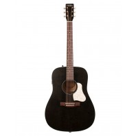 A&L Americana Faded Black Electro-Acoustic Guitar With Q-Discrete Pickup