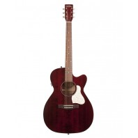 A&L Legacy Tennessee Red Electro-Acoustic Cutaway Guitar With Q-Discrete Pickup