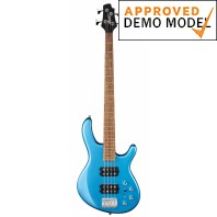 Cort Action HH4 Tasman Light Blue 4 String Bass Guitar Demo Model