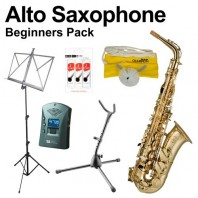 Beginners Alto Saxophone Pack