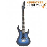Aria Mac Standard Metallic Blue Shade Electric Guitar Demo Model