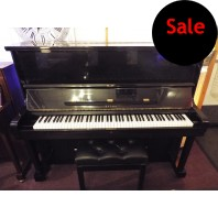 Used Atlas Traditional Polished Ebony Upright Piano
