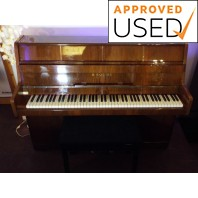 Used B. Squire Polished Mahogany Upright Piano