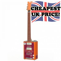 Bohemian Hot Sauce BG15HS Oil Can Guitar Clearance Offer