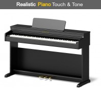 Broadway BW1 Black Satin 88 Note Weighted Arranger Home Piano