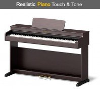 Broadway BW1 Dark Rosewood 88 Note Weighted Arranger Home Piano