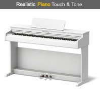 Broadway BW1 White 88 Note Weighted Arranger Home Piano
