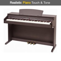 Broadway EZ-102 Dark Rosewood 88 Note Weighted Home Piano