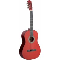 4/4 Size Classical Guitar - Red