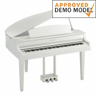 Yamaha CLP665 Polished White Digital Grand Piano Re-Boxed Stock