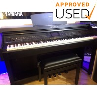 Used Yamaha CVP701 Black Walnut Digital Piano