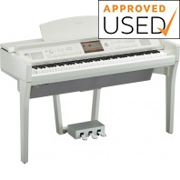 Used Yamaha CVP709 Polished White Digital Piano Only
