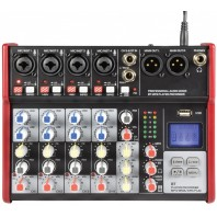 Citronic CSM Compact Mixers With USB And Bluetooth CSM-6