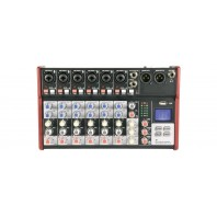 Citronic CSM Compact Mixers With USB And Bluetooth CSM-8
