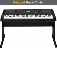 Yamaha DGX660 Black Digital Piano Yamaha UK Reboxed Stock