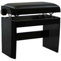 Dexibell Adjustable Wooden Bench Matt Black