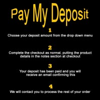 Deposit Payment for Purchase from Allegro Music