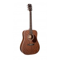 Cort Earth70 Mahogany Open Pore Dreadnought Acoustic Guitar